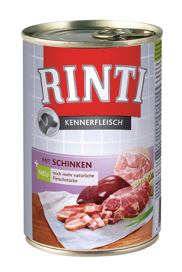 Rinti | Kennerfleisch mit Schinken | 12 x 800 g