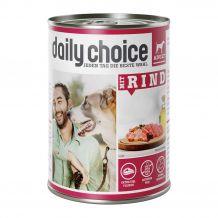 daily choice - Nassfutter - Mit Rind 400g