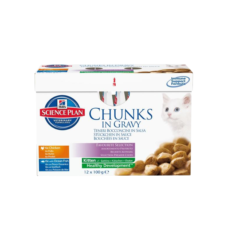 Hill's | Science Plan Kitten Multipack Huhn & Seefisch