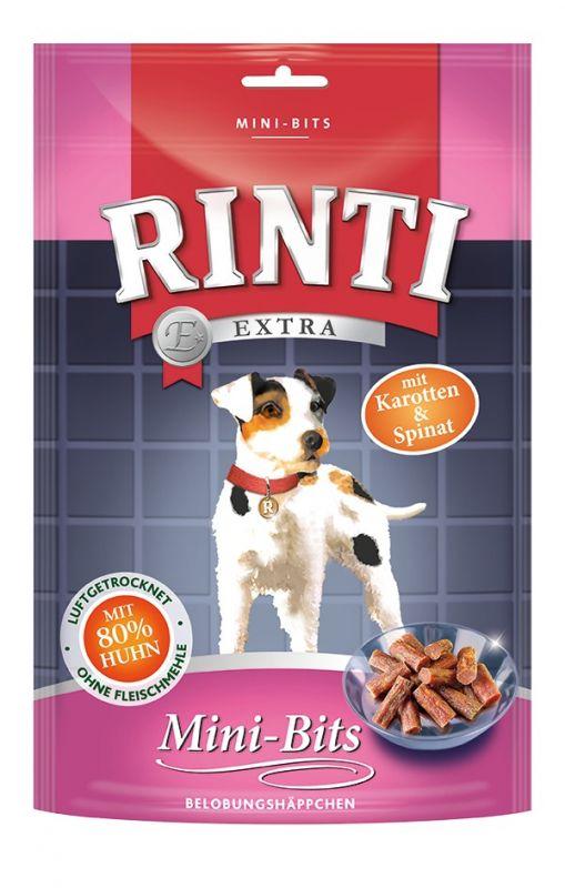 Rinti | Extra Mini-Bits - Belobungshäppchen mit Karotten & Spinat