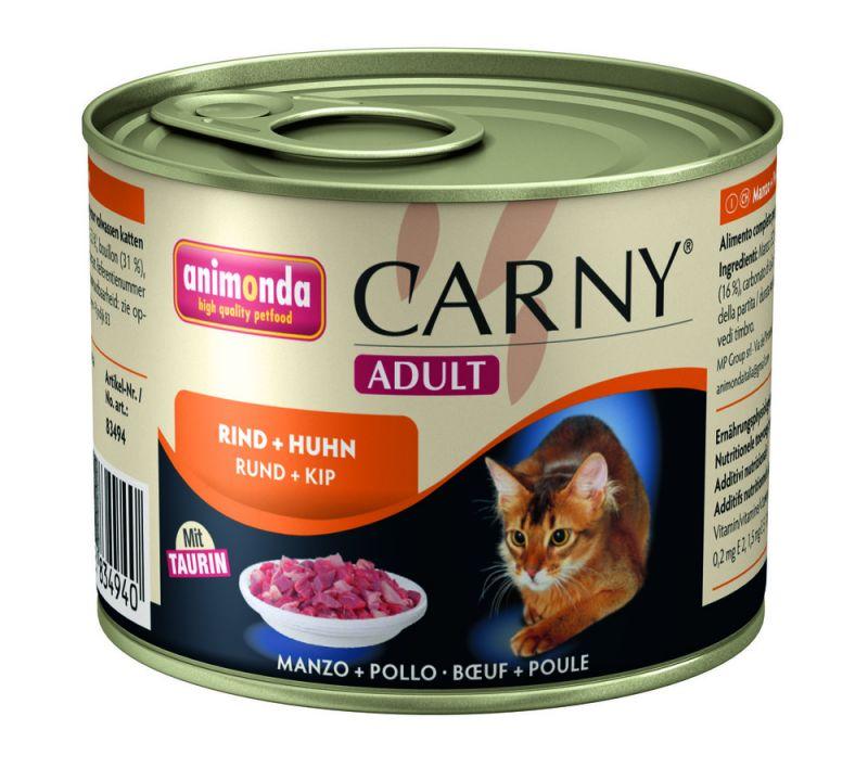 Animonda Carny Adult Rind & Huhn 12 x 200 g