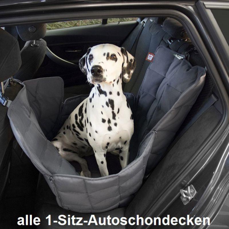 Doctor Bark | 1-Sitz Autodecke schwarz