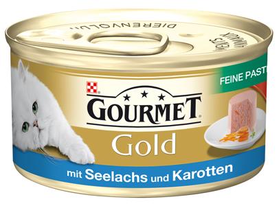 Gourmet | Gold Feine Pastete mit Seelachs und Karotten