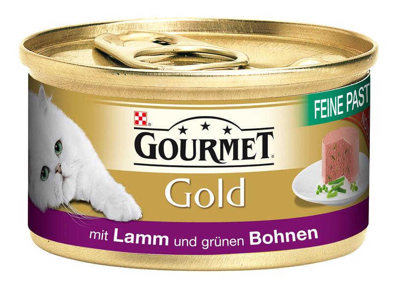 Gourmet | Gold Feine Pastete mit Lamm und grünen Bohnen
