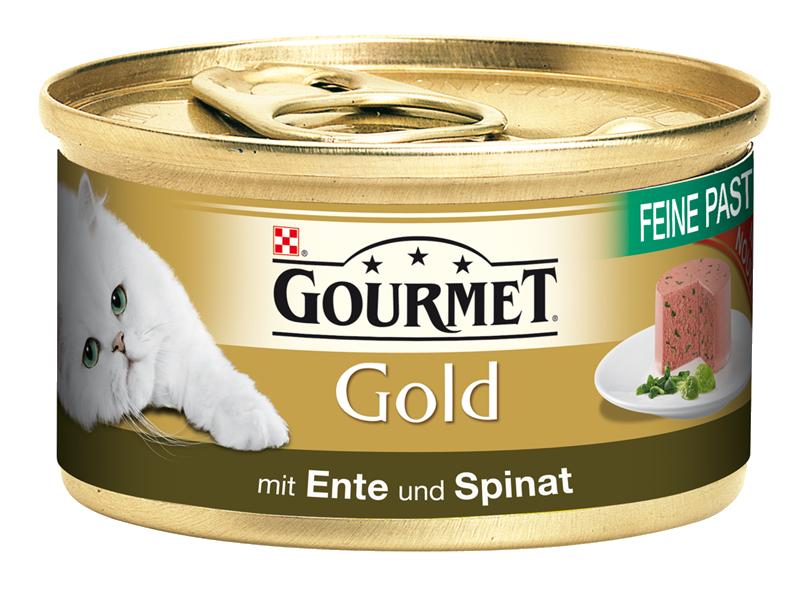 Gourmet | Gold Feine Pastete mit Ente und Spinat