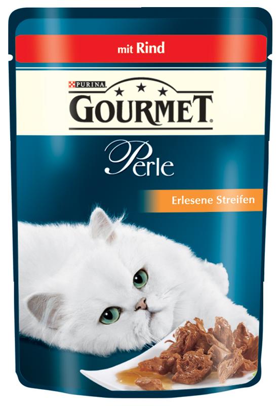 Gourmet | Perle Erlesene Streifen mit Rind