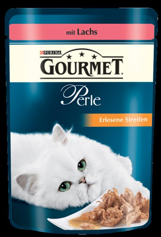 Gourmet | Perle Erlesene Streifen mit Lachs