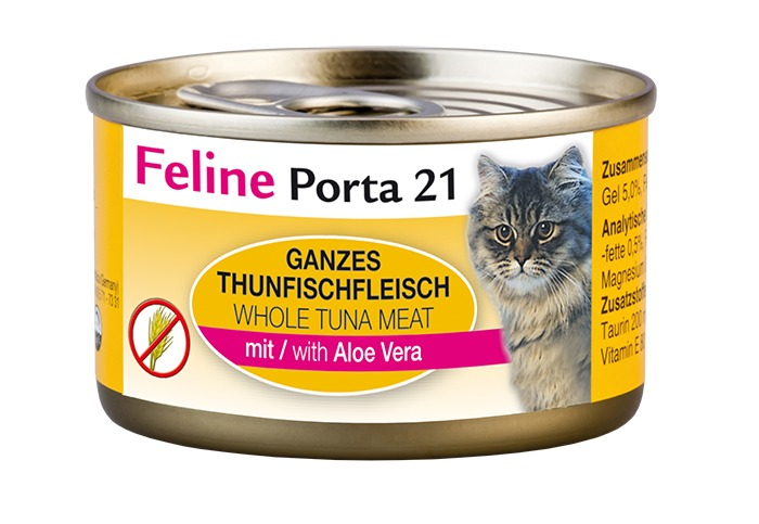 Feline Porta21 Dose Thunfisch mit Aloe 24 x 90 g
