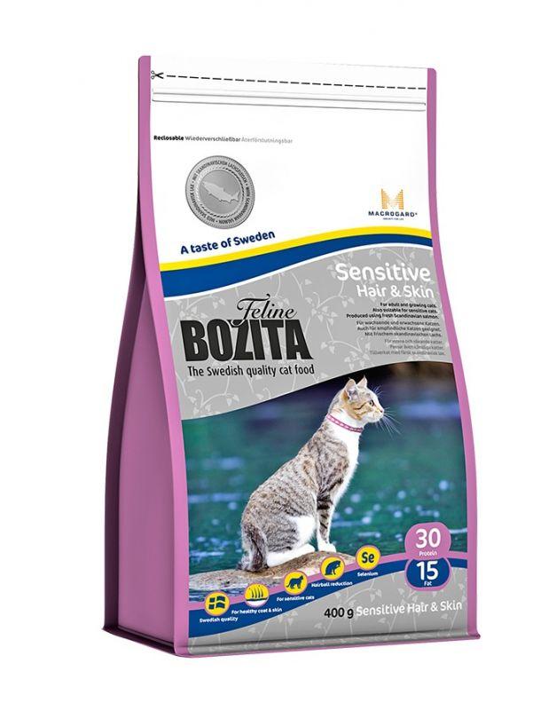 Bozita Cat Hair & Skin - Sensitive 2 kg