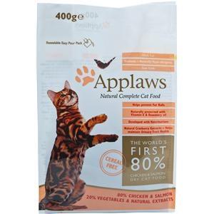 Applaws Katzentrockenfutter mit Hühnchen & Lachs 400 g