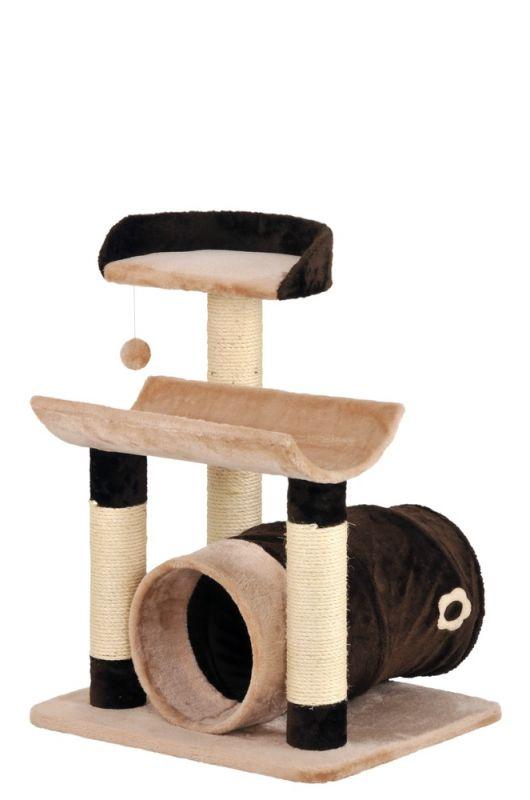 SILVIO DESIGN | Katzenbaum Toy in Braun-Beige