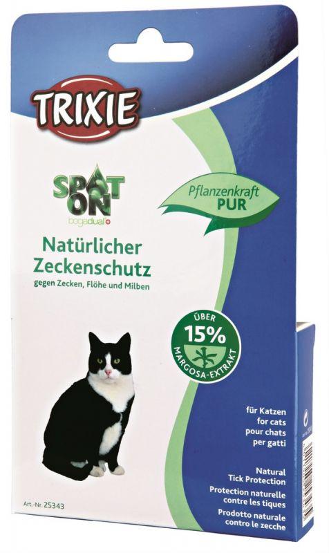 Trixie | Spot On Natürlicher Zeckenschutz, Katze