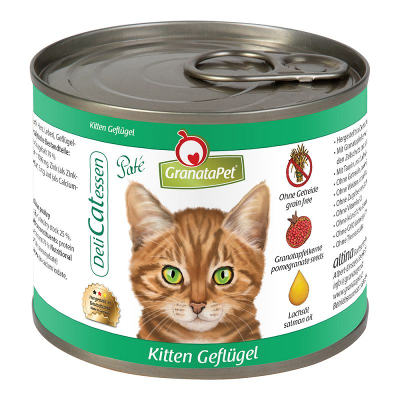 GranataPet | DeliCatEssen Kitten Geflügel PUR