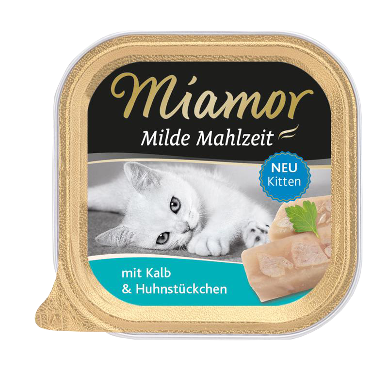 Miamor | Milde Mahlzeit Kitten Kalb & Huhn