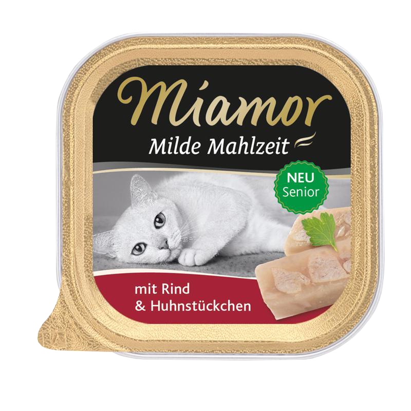 Miamor | Milde Mahlzeit Senior Rind & Huhn