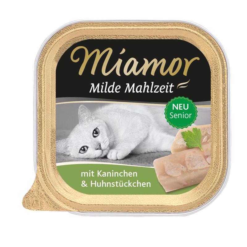 Miamor | Milde Mahlzeit Senior Kaninchen & Huhn