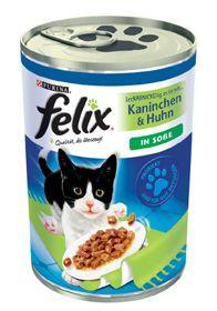 Felix | Leckerbissen Kaninchen, Huhn & Gemüse
