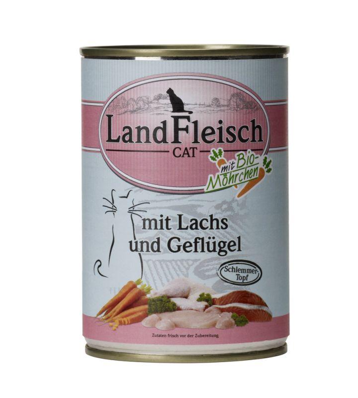 LandFleisch | Schlemmertopf Lachs und Geflügel