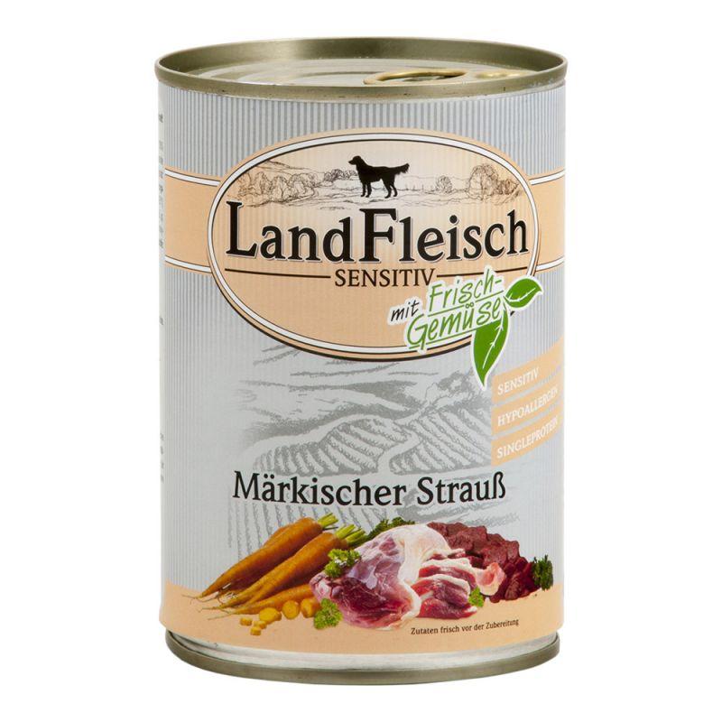 LandFleisch | Sensitiv Märkischer Strauß mit Frisch-Gemüse