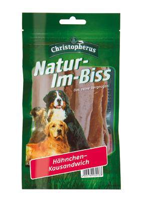 Allco | Christopherus Natur-Im-Biss Hühnchen-Kausandwich
