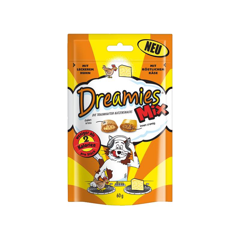 Dreamies | Mix mit leckerem Huhn und köstlichem Käse