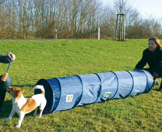 Trixie | Agility Basic Tunnel - blau
