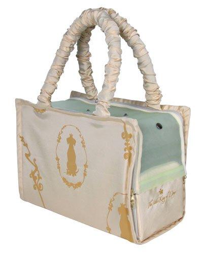 Trixie | Hundekönig Tasche, Nylon Plüsch, beige