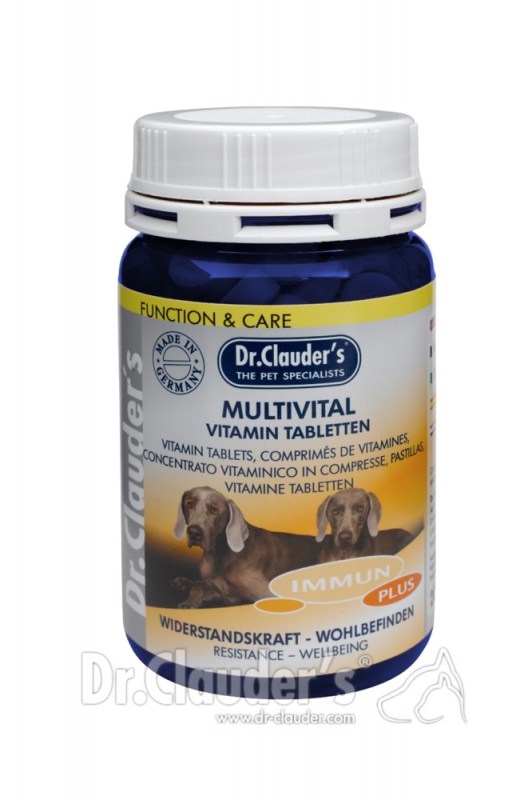 Dr. Clauder's | Function & Care Immun Plus Multivital Vitamin Tabletten