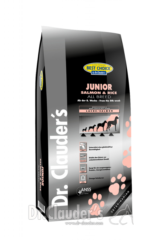 Dr. Clauder's | Best Choice Junior Lachs & Reis