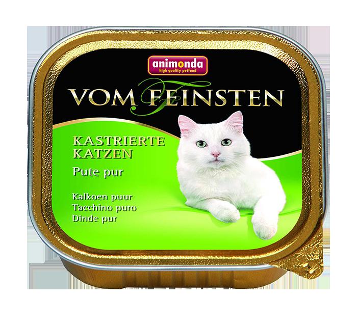 Animonda | Vom Feinsten Kastrierte Katzen Pute pur