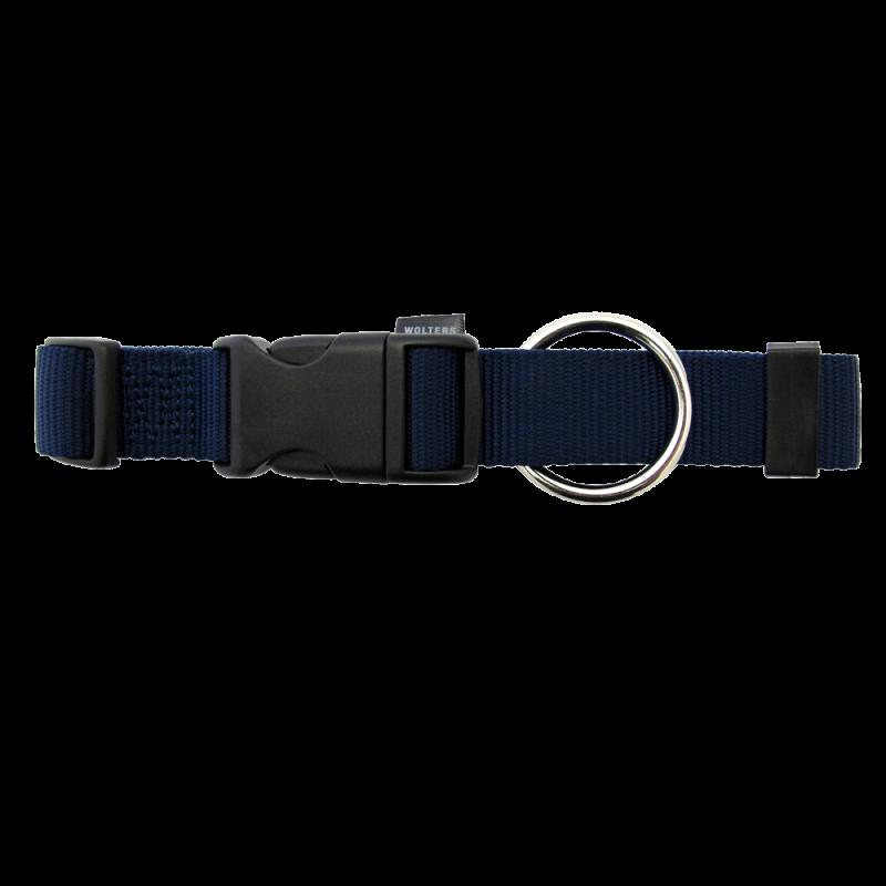 Wolters | Halsband Basic in Marine-Blau