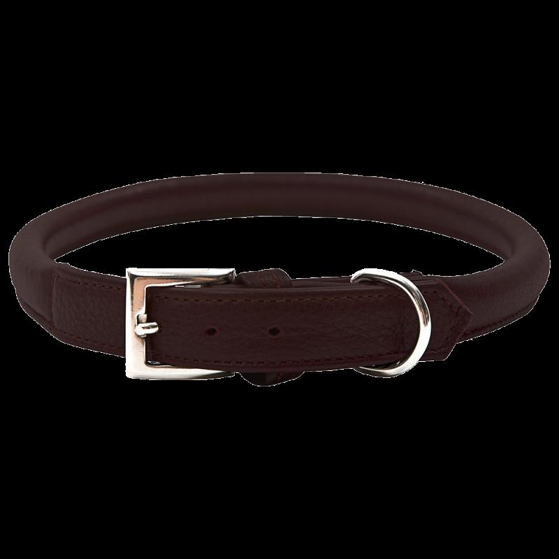 Wolters | Halsband Terravita rund in Kastanie