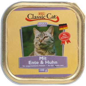Classic Cat | Adult Mit Ente & Huhn