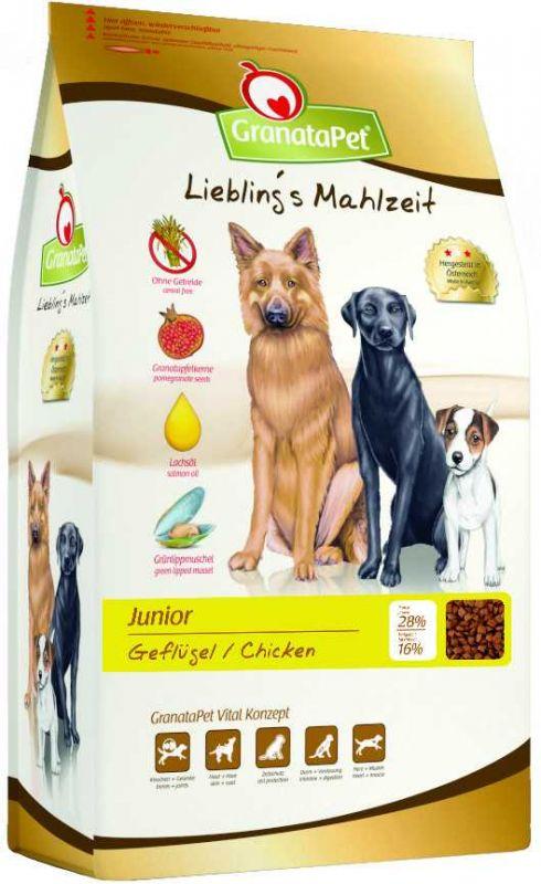 GranataPet | Liebling's Mahlzeit Trockenfutter Junior Geflügel