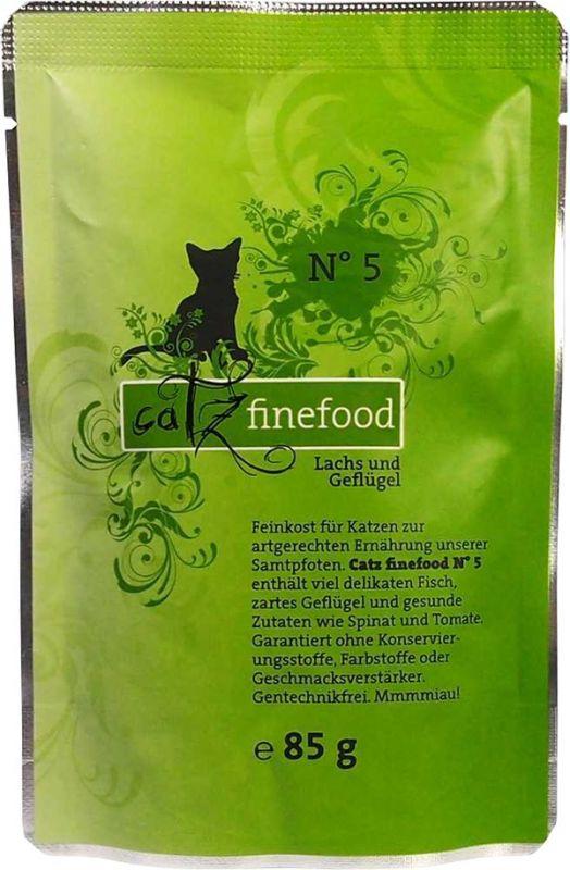 Catz finefood | No. 5 Lachs & Geflügel