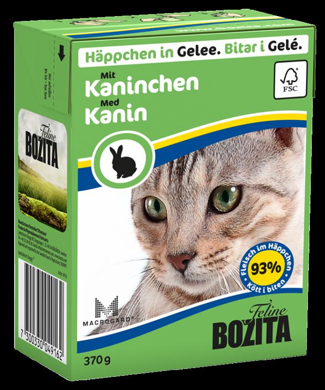 Bozita | Feline Häppchen in Gelee mit Kaninchen