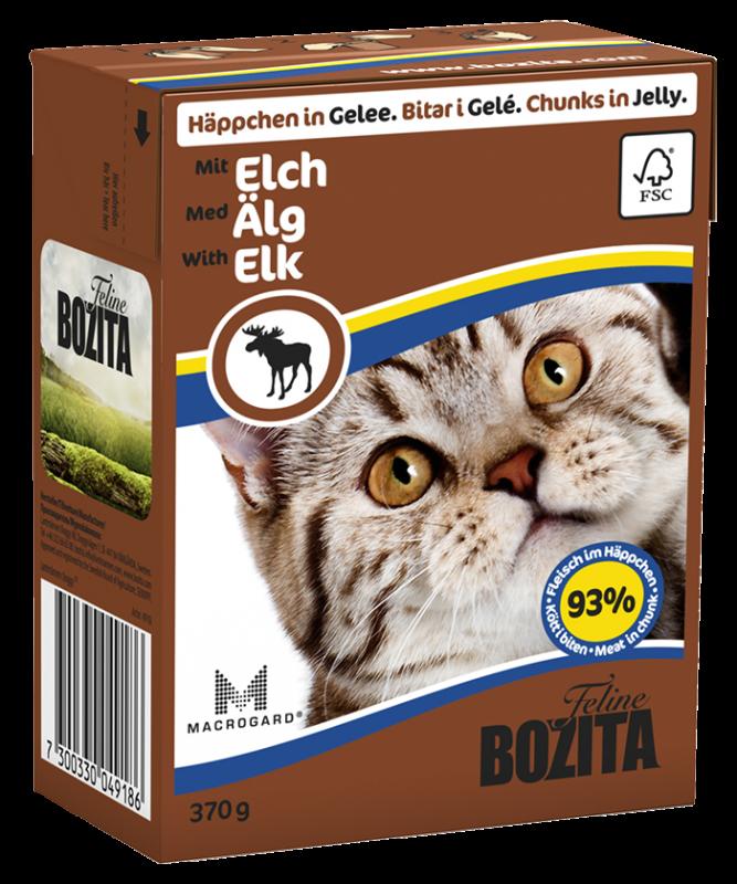 Bozita | Feline Häppchen in Gelee mit Elch