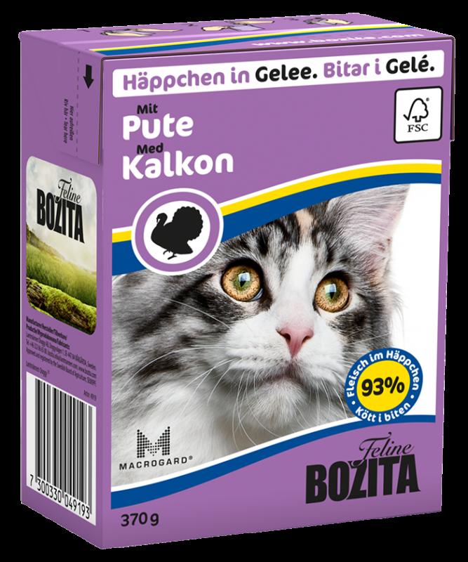 Bozita | Feline Häppchen in Gelee mit Pute