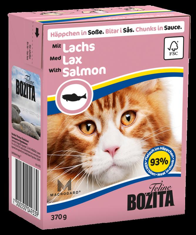Bozita | Feline Häppchen in Soße mit Lachs