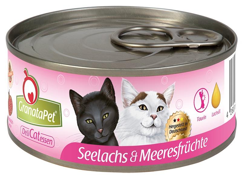 Granata Pet Cat Dose DeliCatessen Seelachs & Meeresfrüchte 6 x 100 g