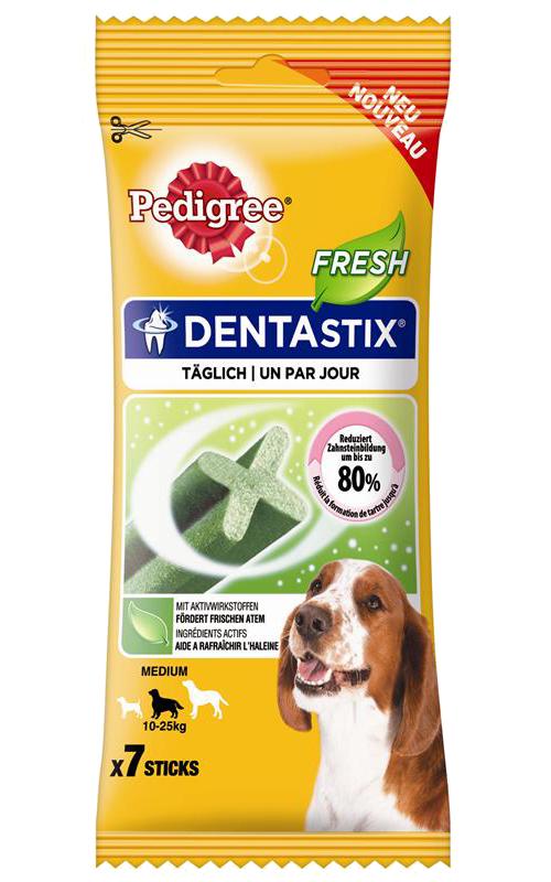 Pedigree | DentaStix Fresh für mittelgroße Hunde