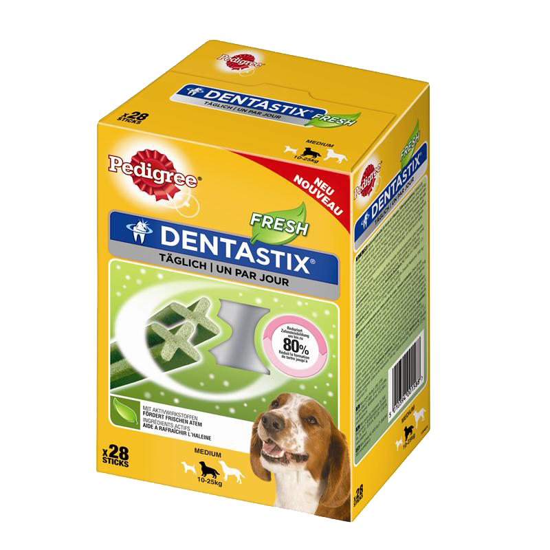 Pedigree | DentaStix Fresh Multipack für mittelgroße Hunde