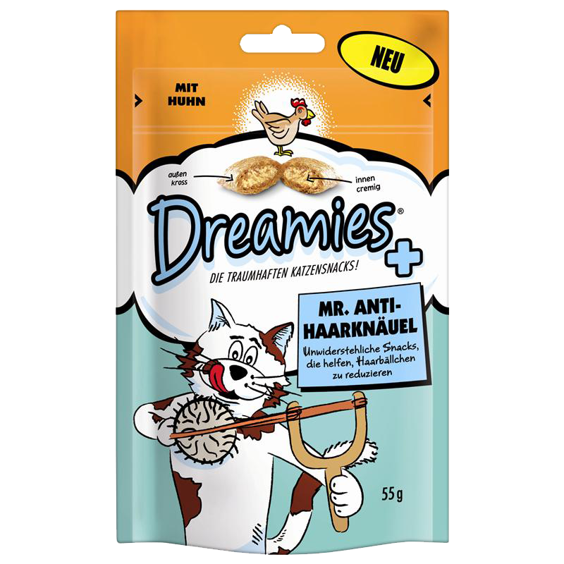 Dreamies | Mr. Anti-Haarknäuel