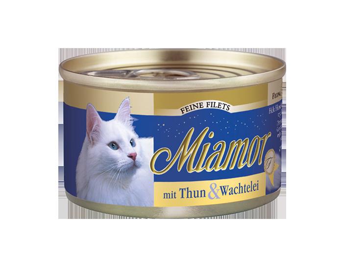 Miamor | Feine Filets mit Thun & Wachtelei