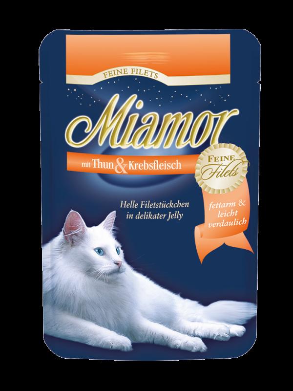 Miamor | Feine Filets mit Thun & Krebsfleisch