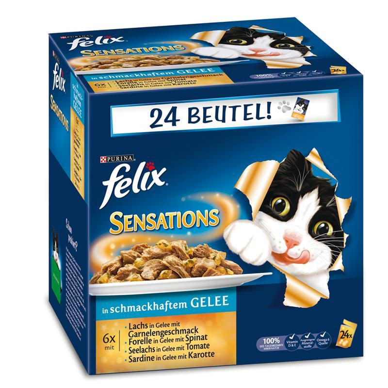 Felix | Sensations Fischauswahl in schmackhaftem Gelee