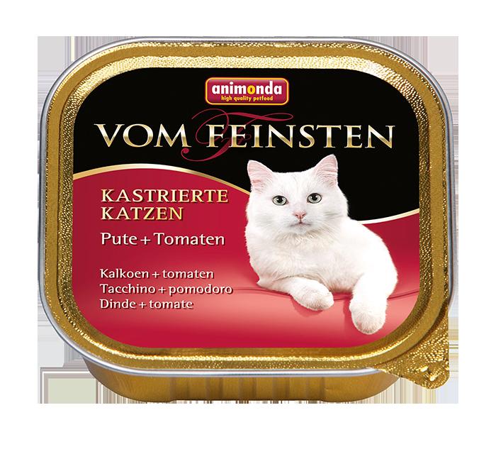 Animonda | Vom Feinsten Kastrierte Katzen Pute & Tomaten