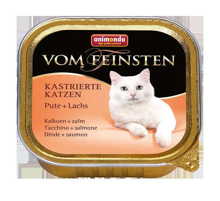Animonda | Vom Feinsten Kastrierte Katzen Pute & Lachs