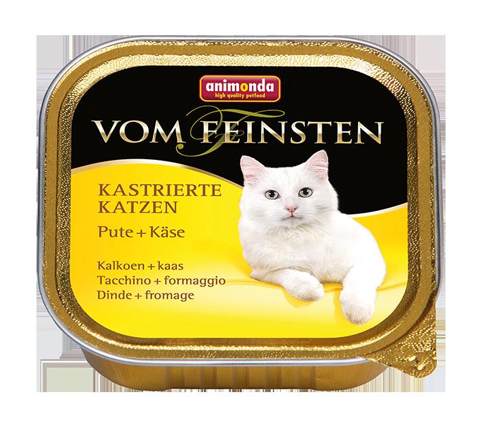 Animonda | Vom Feinsten Kastrierte Katzen Pute & Käse