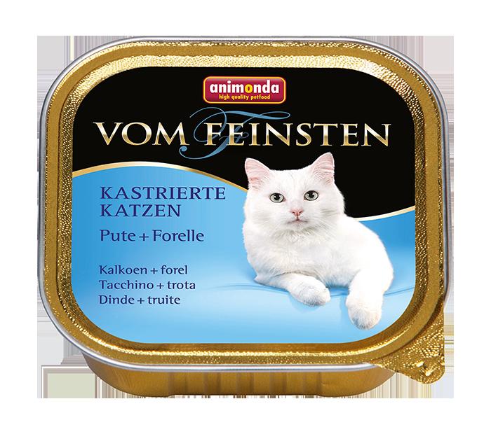 Animonda | Vom Feinsten Kastrierte Katzen Pute & Forelle